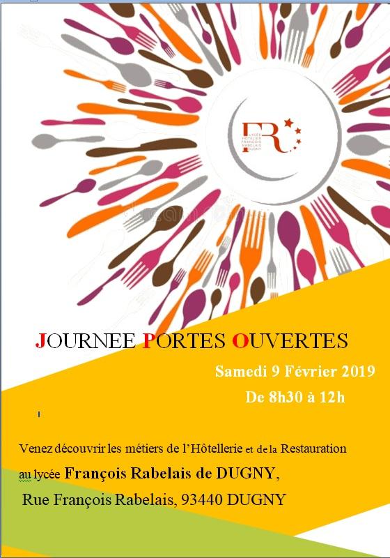 Lycee Hotelier Francois Rabelais Journee Portes Ouvertes 2019